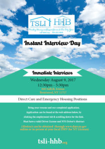 Aug Instant Interview Day 8.9.17