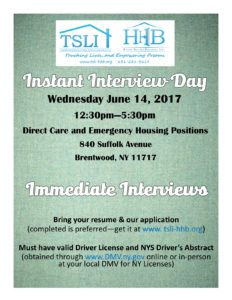 Instant Interview Day June 14 2017