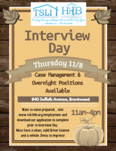 11.18 Interview Day